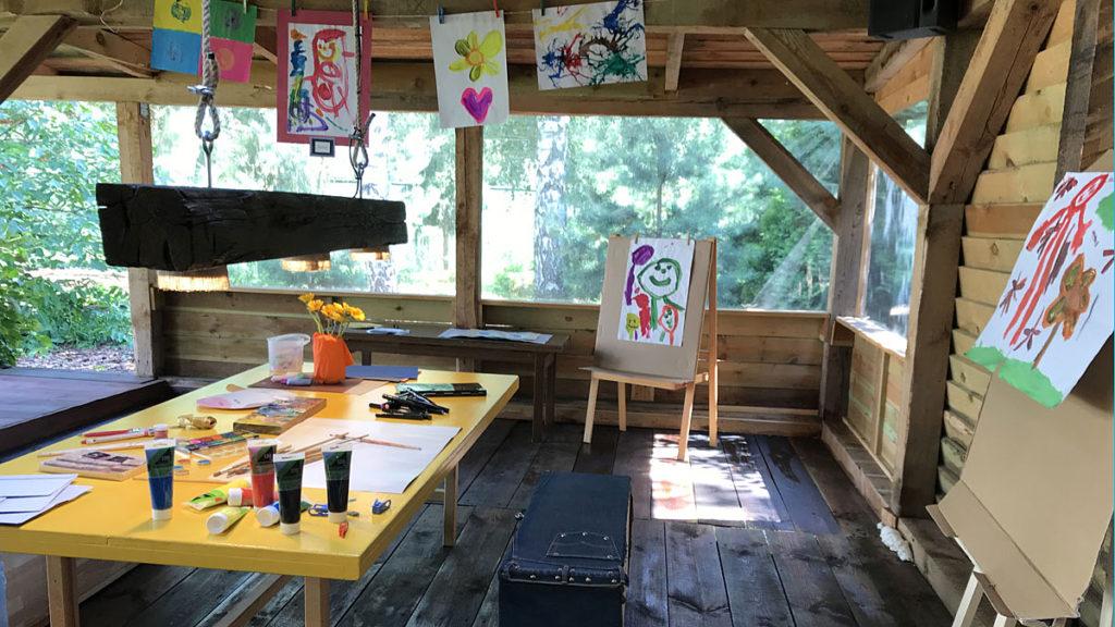 Przedszkole Borowina – letnia pracownia artystyczna
